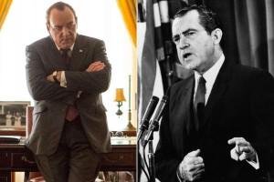Un Kevin Spacey straordinariamente somigliante a Nixon!