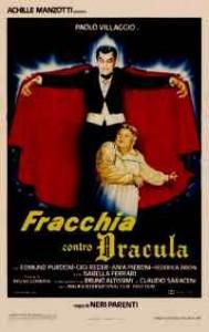 "La locandina di ""Fracchia contro Dracula"" (1985), tra i film più spassosi diretti da Neri Parenti"