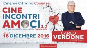 L'edizione 2016 con ospite Carlo Verdone