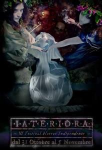 VI INTERIORA Festival Horror Indipendente - adesivo web
