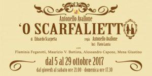 """""""'O SCARFALIETTO"""" SECONDO ANTONELLO AVALLONE"""
