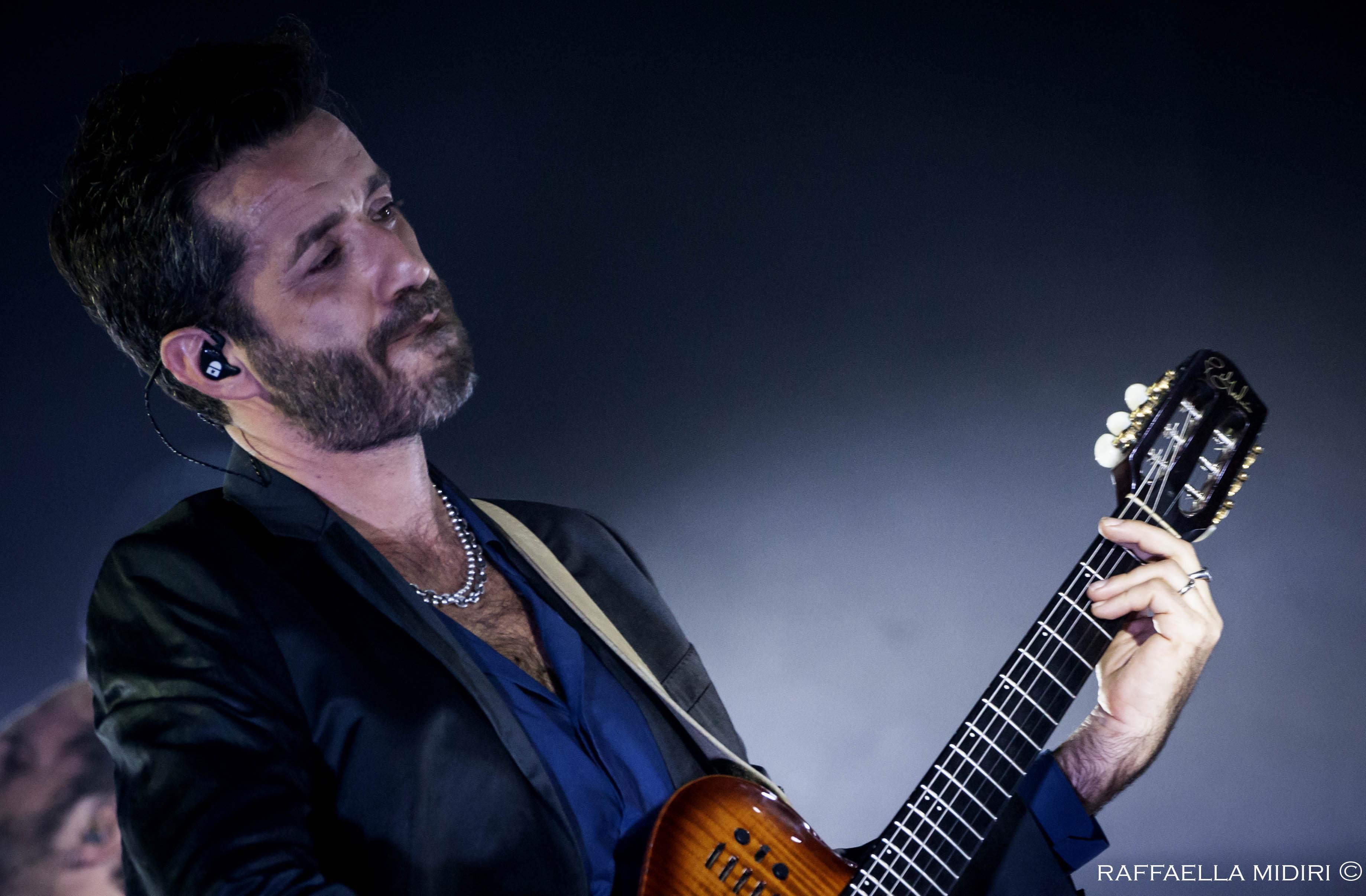 Daniele Silvestri live all'Auditorium della Conciliazione.