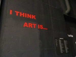 I think art is