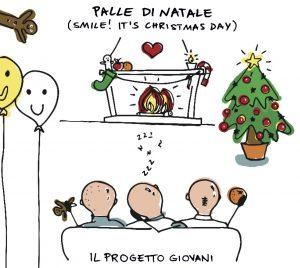 """LE """"PALLE DI NATALE"""" DEL PROGETTO GIOVANI"""
