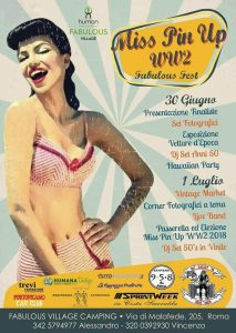IL MONDO PIN UP IN MOSTRA AL WW2