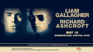 Summer Stage NYC. Gallagher e Ashcroft accoppiata vincente