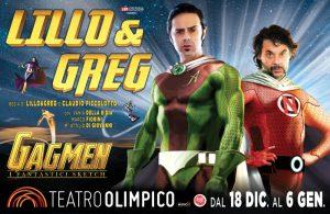 """LILLO & GREG, GRANDI """"GAGMEN"""""""