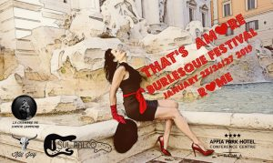 IL CAST DEL THAT'S AMORE BURLESQUE FESTIVAL ROME