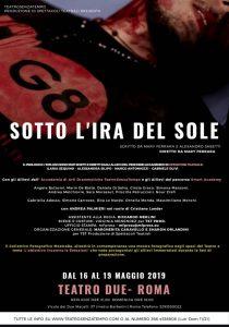 G8 – SOTTO L'IRA DEL SOLE